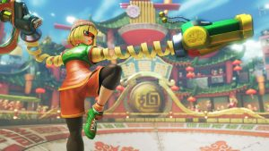 ARMS Character Lola Pop Revealed; Coming Tomorrow In Free Update