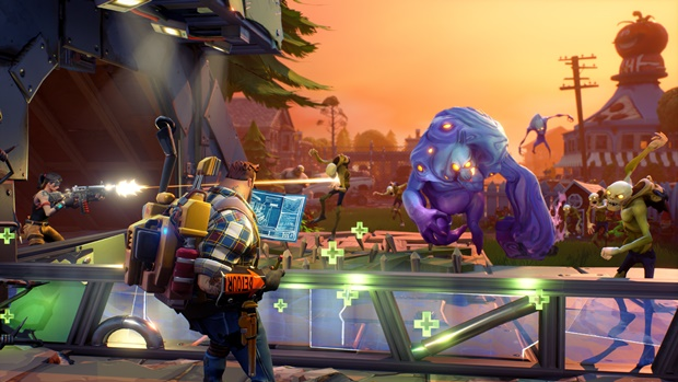 New Fortnite: Battle Royale Patch Brings UI And PhysX Performance