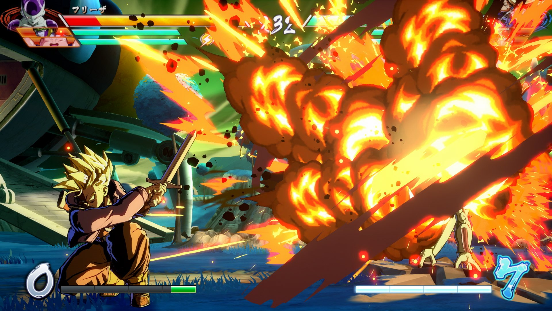 Dragon Ball Fighter Z Trunks