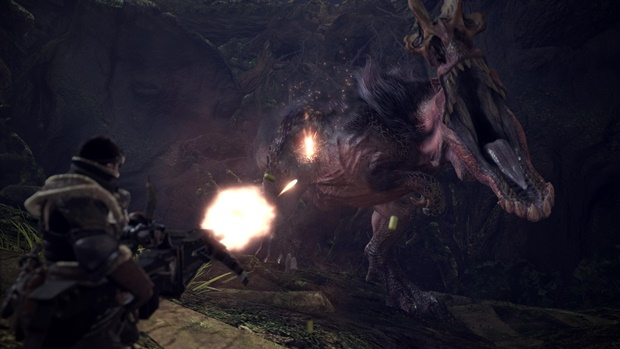Monster Hunter World New Gameplay Videos Showcase All Weapon Types