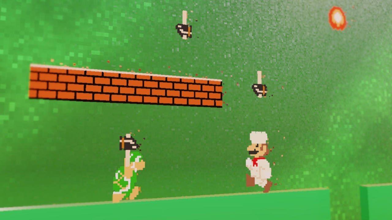 Super Mario Odyssey Food World Moon