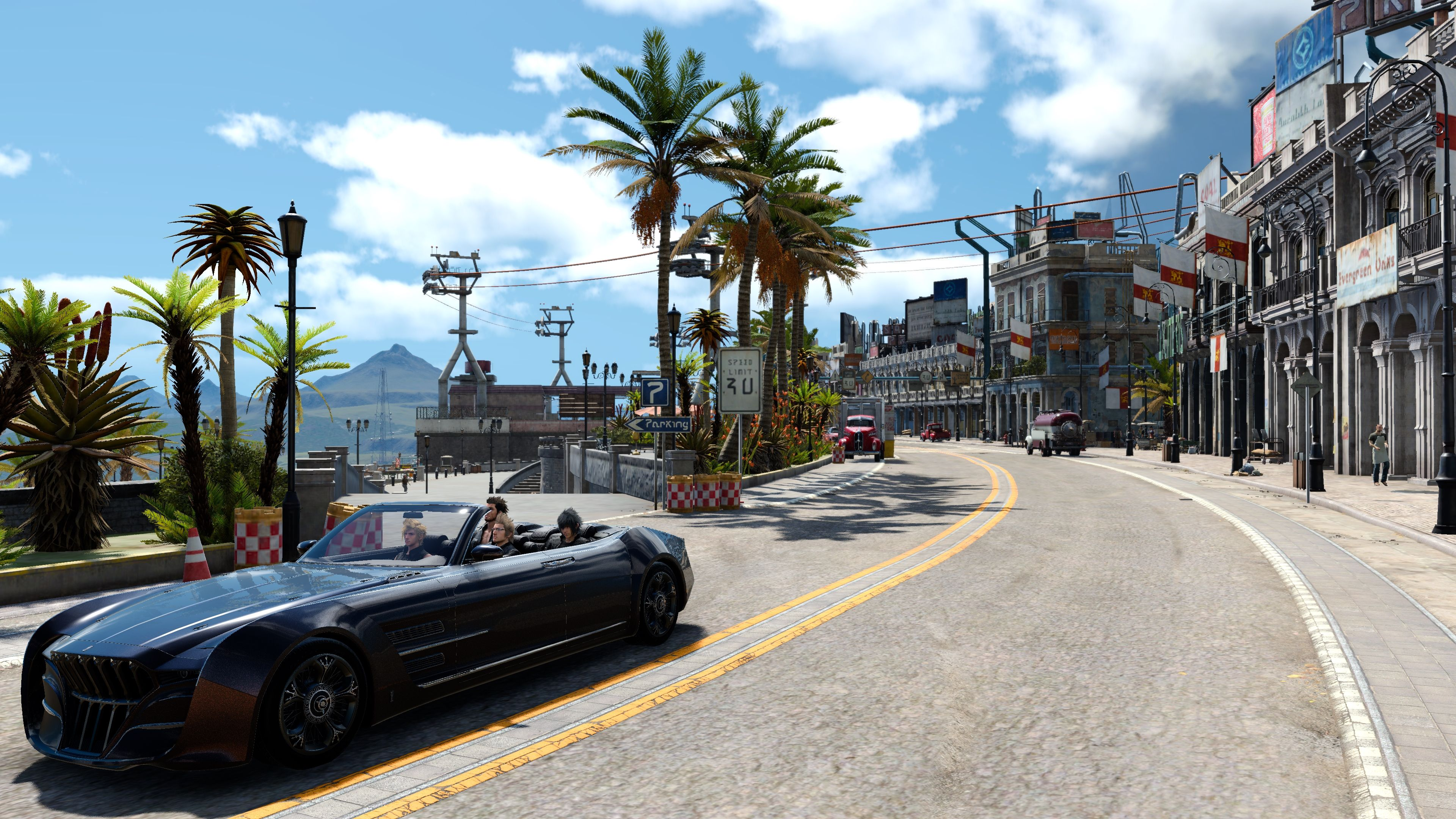 Final Fantasy 15's PC Version's LOD and Stuttering Issues