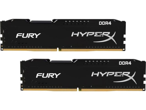 HyperX Fury 2x4 GB DDR4