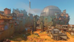 "Overwatch Junkertown Map Preview Features ""Queen"" The Leader"