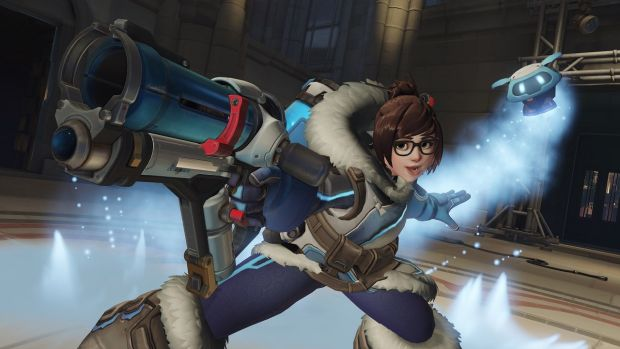 Oy Mei! There's a new Overwatch short to keep you warm