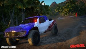 Off Road Racing Game Gravel Delayed To 2018