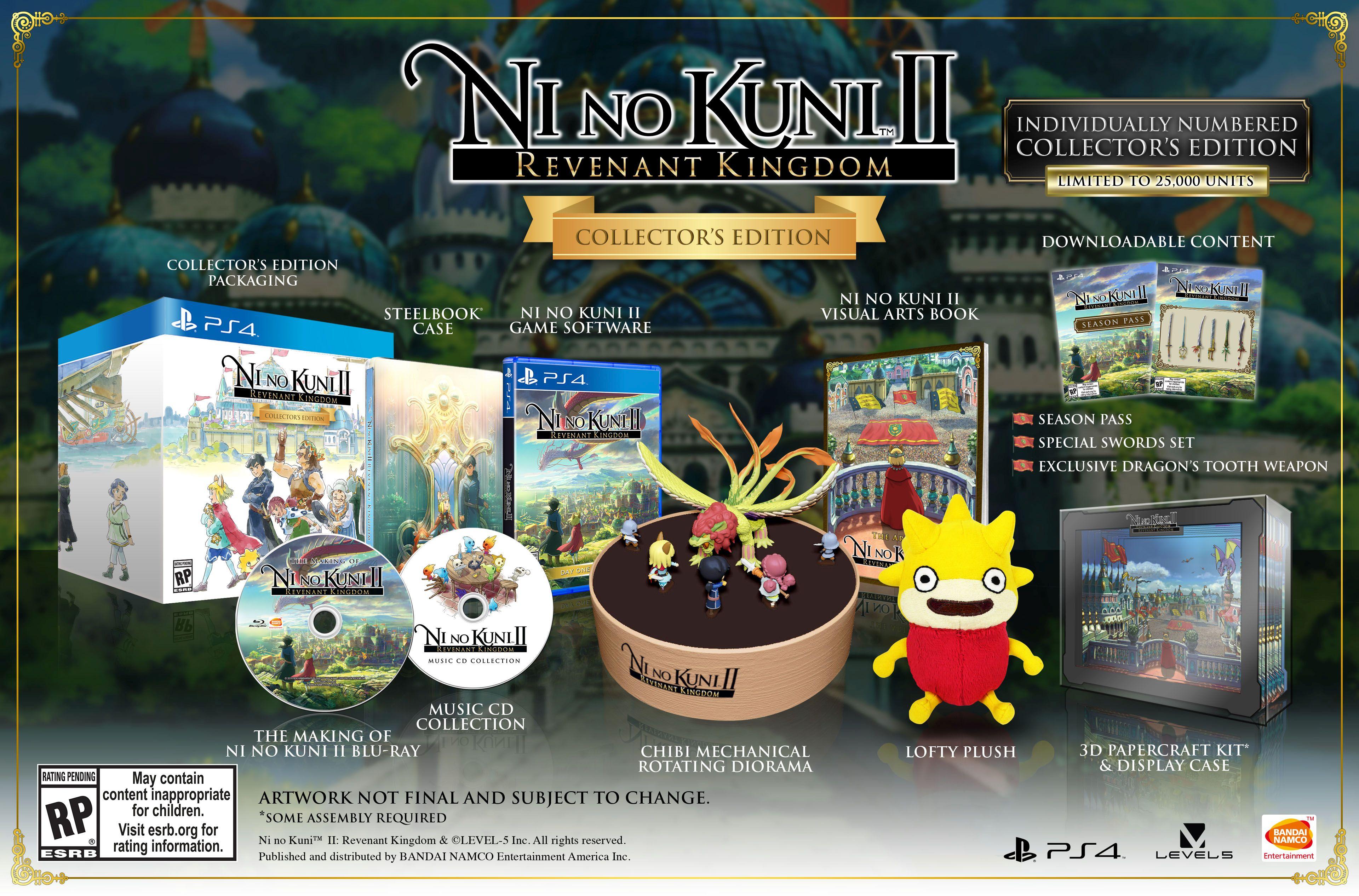 ni no kuni 2 collector's edition