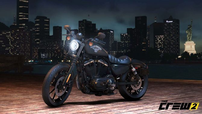 the crew 2 harley davidson