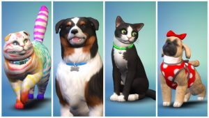 The Sims 4 Receiving Cats and Dogs Expansion on November 10th