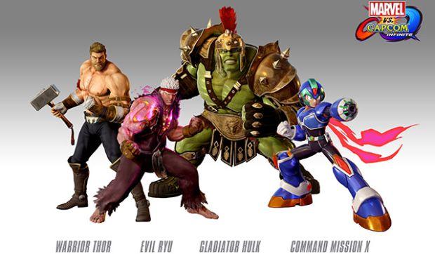 Marvel vs Capcom Infinite preorders