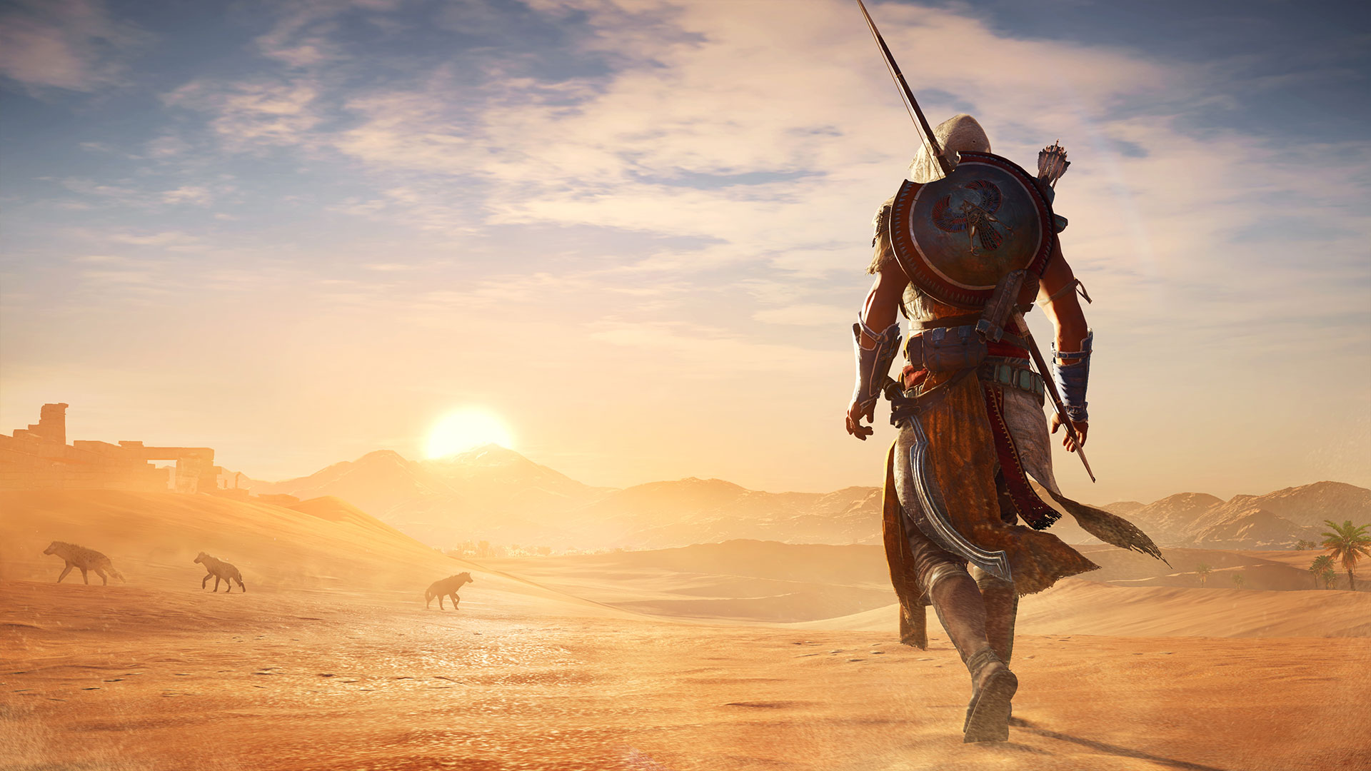 Assassin S Creed Origins How Does The Ps4 Pro Version Stack Up