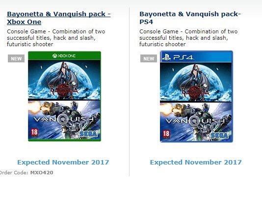 bayonetta & vanquish double pack