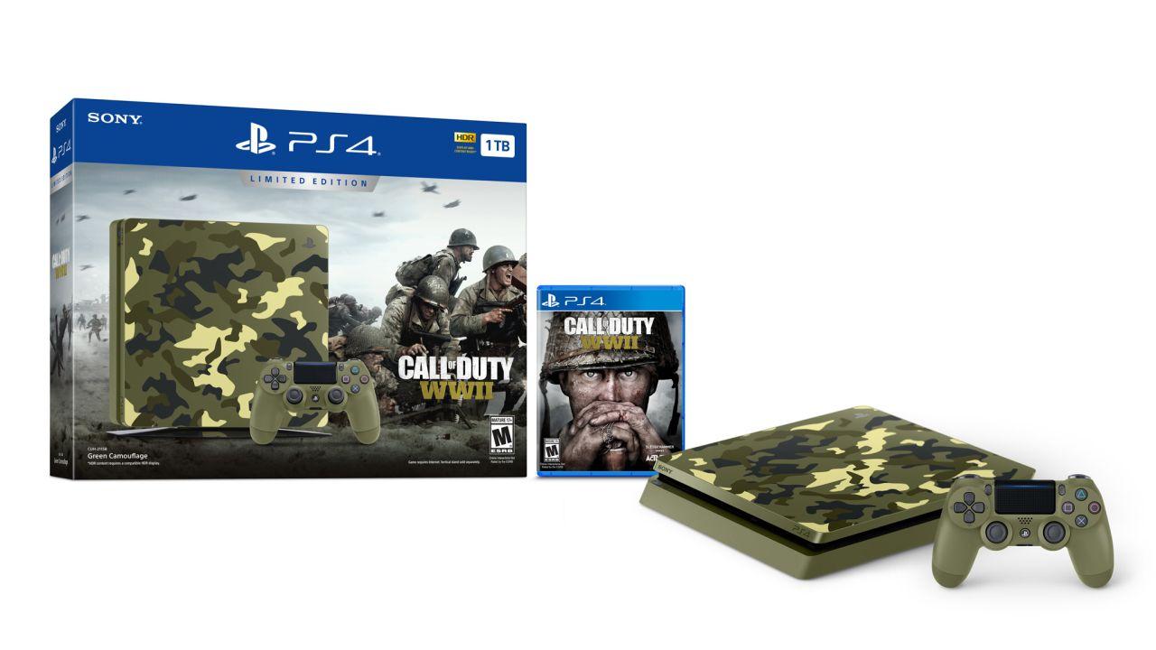 A Hideous Call Of Duty World War 2 Themed Ps4 Slim Bundle