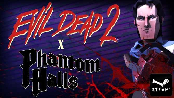 evil dead 2 x phantom halls