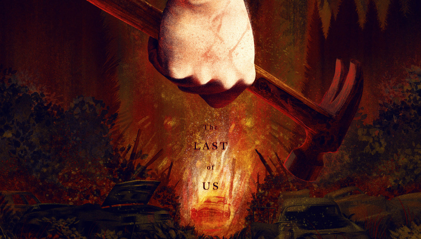 the last of us 2 poster
