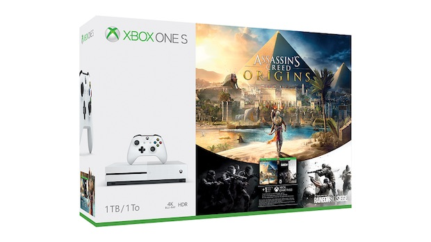 assassins creed origins xbox one s bundle