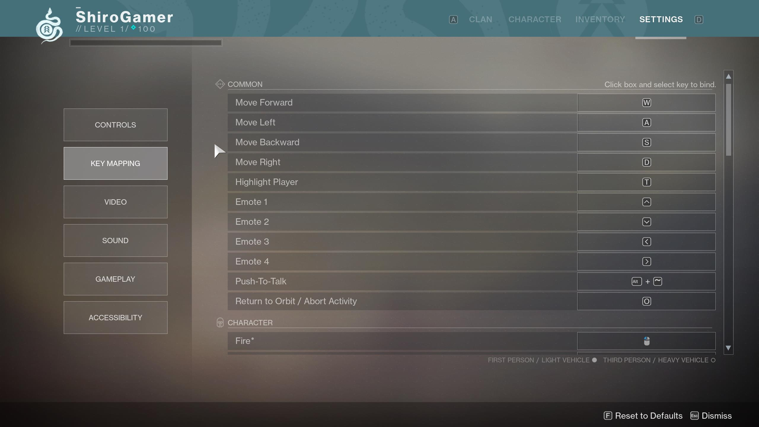 destiny 2 pc version full settings menu revealed. Black Bedroom Furniture Sets. Home Design Ideas