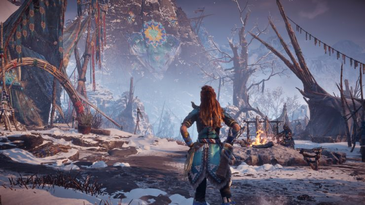horizon zero dawn the frozen wilds 4k