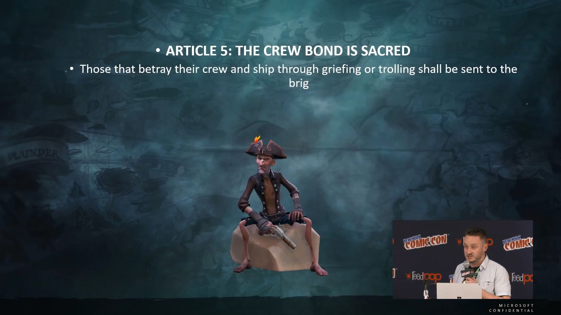 how to change the microphone on sea of thieves