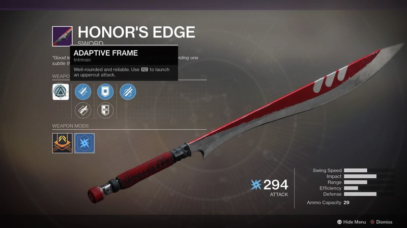 Destiny 2_Honor's Edge