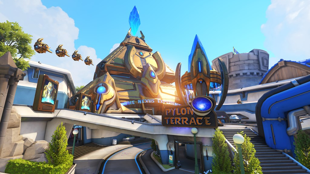 Overwatchs blizzard world map goes live on january 23rd overwatch blizzard world gumiabroncs Image collections