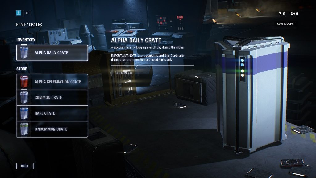 Star Wars Battlefront 2 Crates