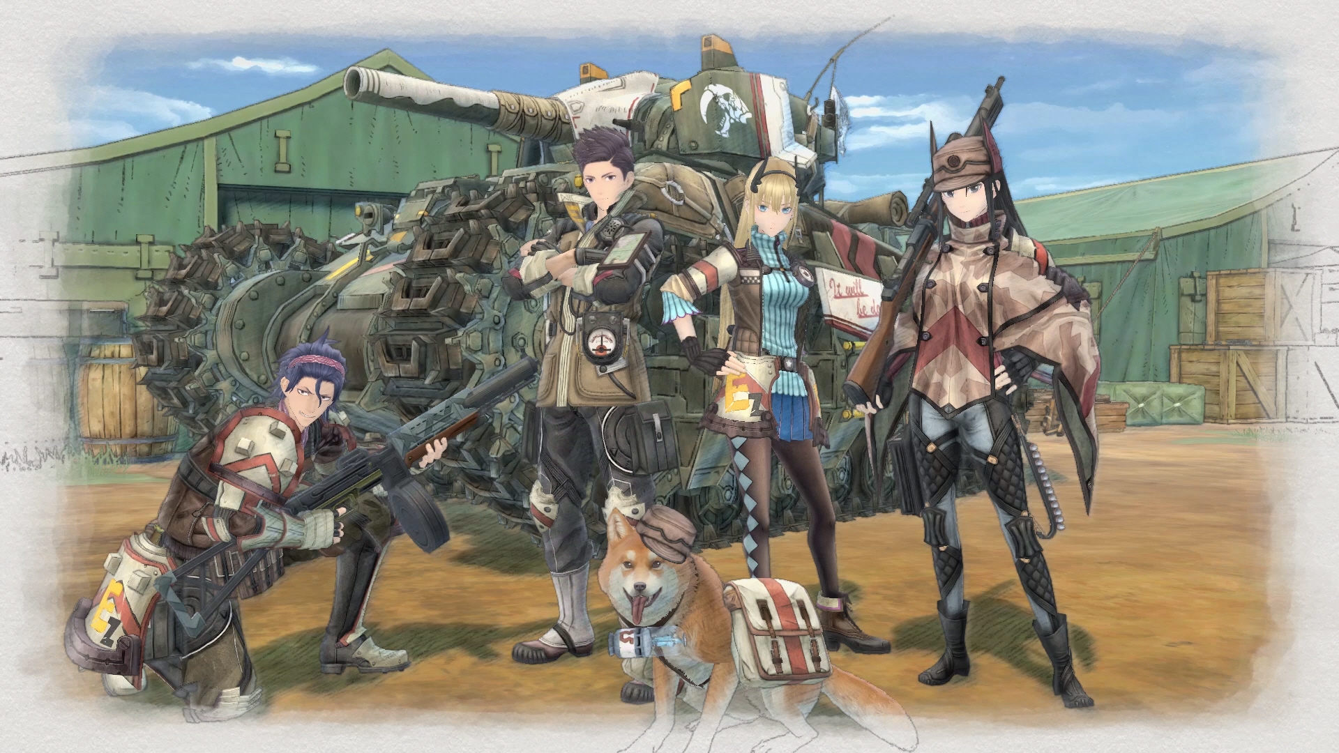 Valkyria Chronicles 4_01