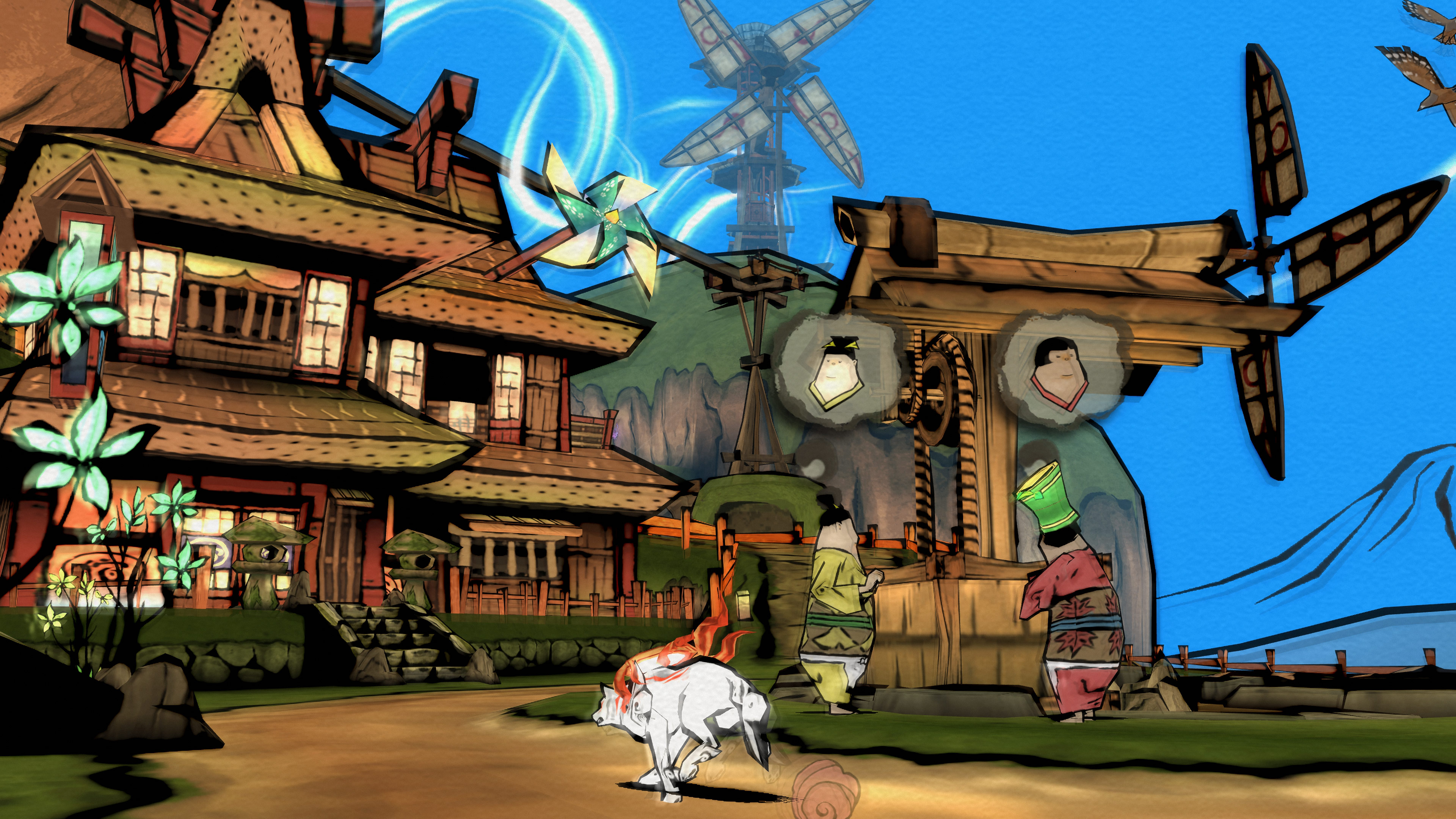 Okami HD for Nintendo Switch Launches on August 9 in Japan