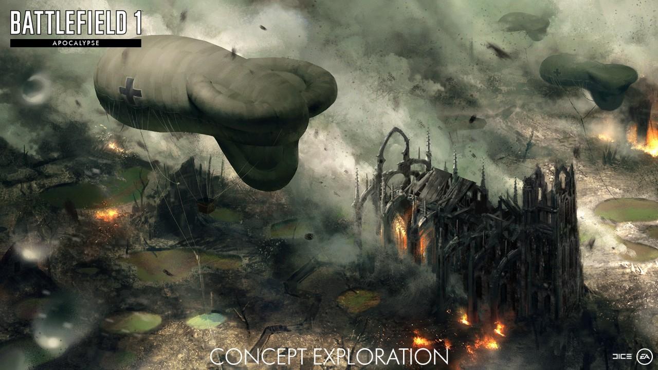 Battlefield 1 apocalypse dlc releasing in february 5 new - Battlefield v concept art wallpaper ...