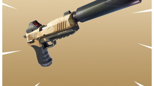 Fortnite Battle Royale_Silenced Pistol