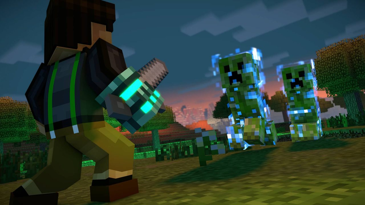 Minecraft Story Mode Season Two Review With A Little Help From