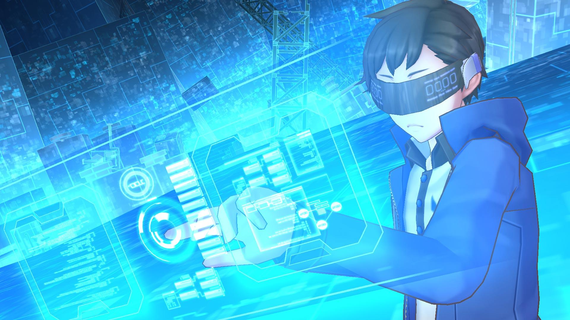 Digimon Cyber Sleuth Hacker's memory