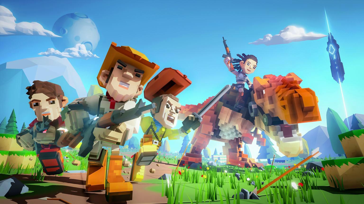 Open World Sandbox Survival Game PixArk Announced For PS4