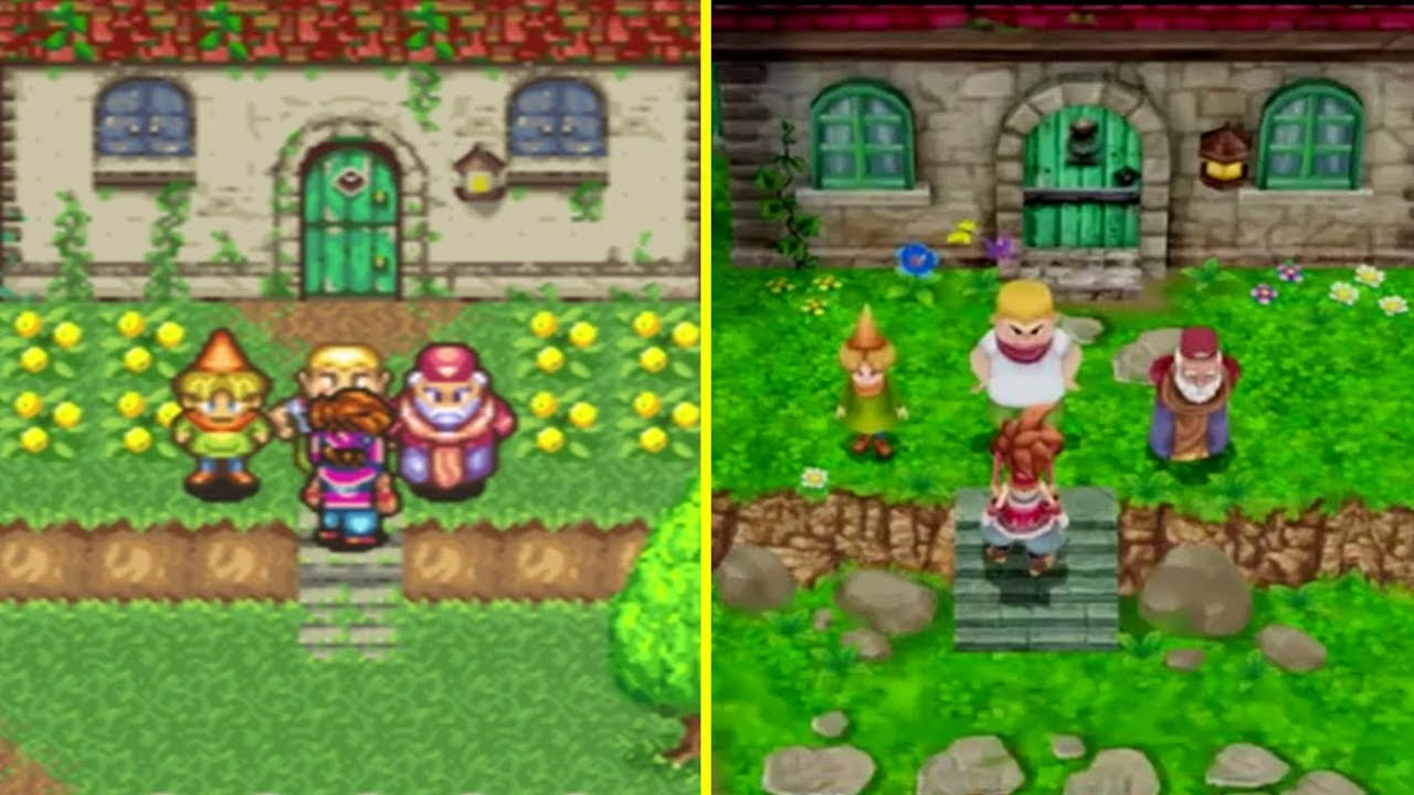 Secret Of Mana Remake Ice Country Footage Revealed GamingBolt - Country games