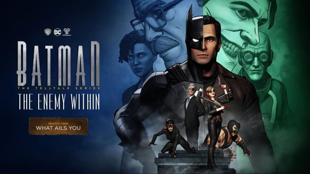 Batman The Enemy Within: What Ails You