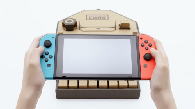 Nintendo explains why labo uses cardboard material video game news when the nintendo labo was first announced many people were excited because it seemed like a great way of mixing video games with the fun of do it yourself solutioingenieria Image collections