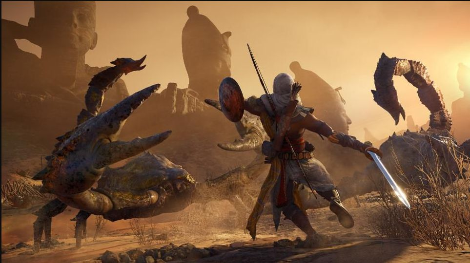 Assassin S Creed Origins Curse Of The Pharaohs Dlc Delayed First