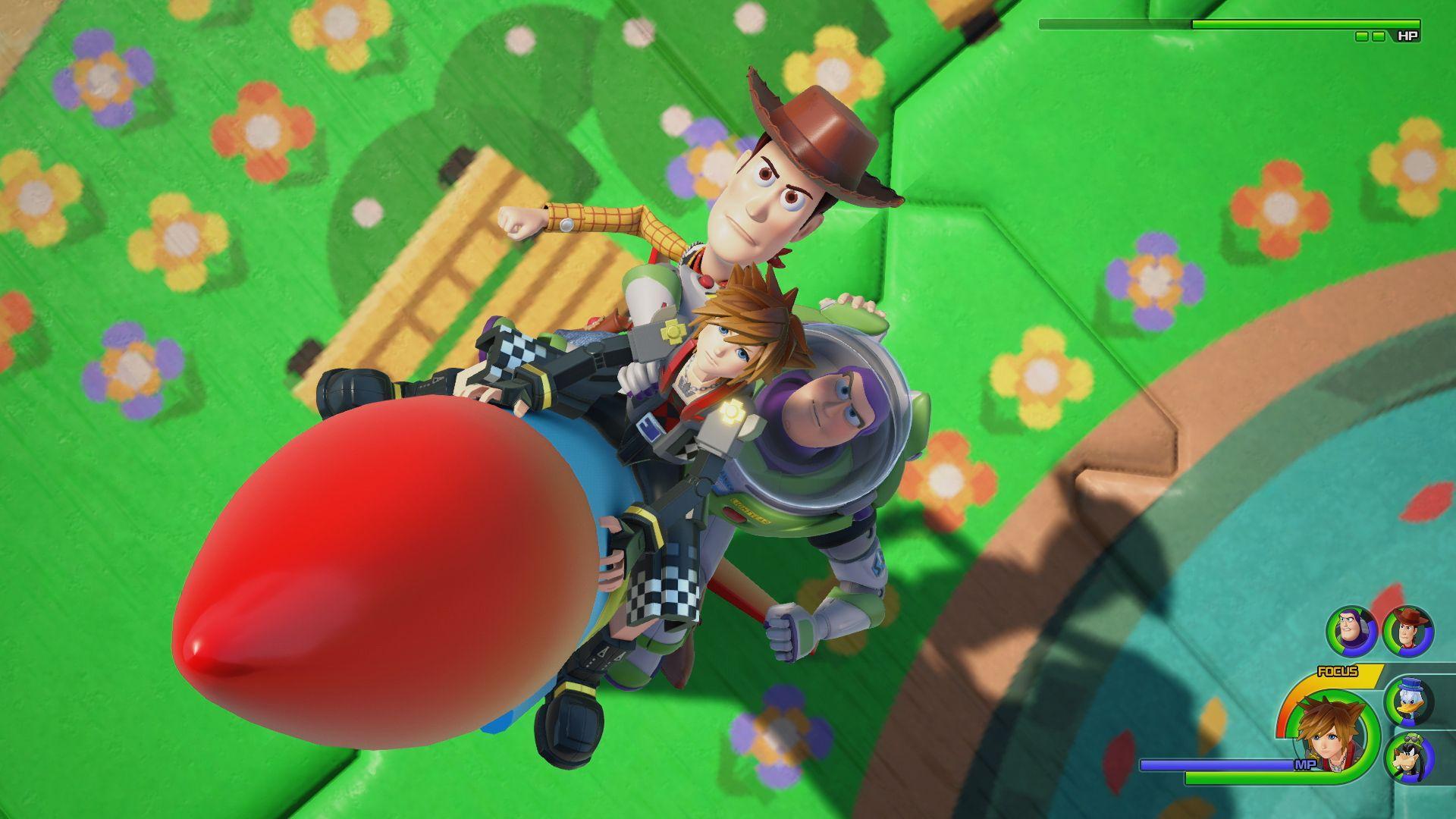 Imagen oficial de Kingdom Hearts III en Toy Box