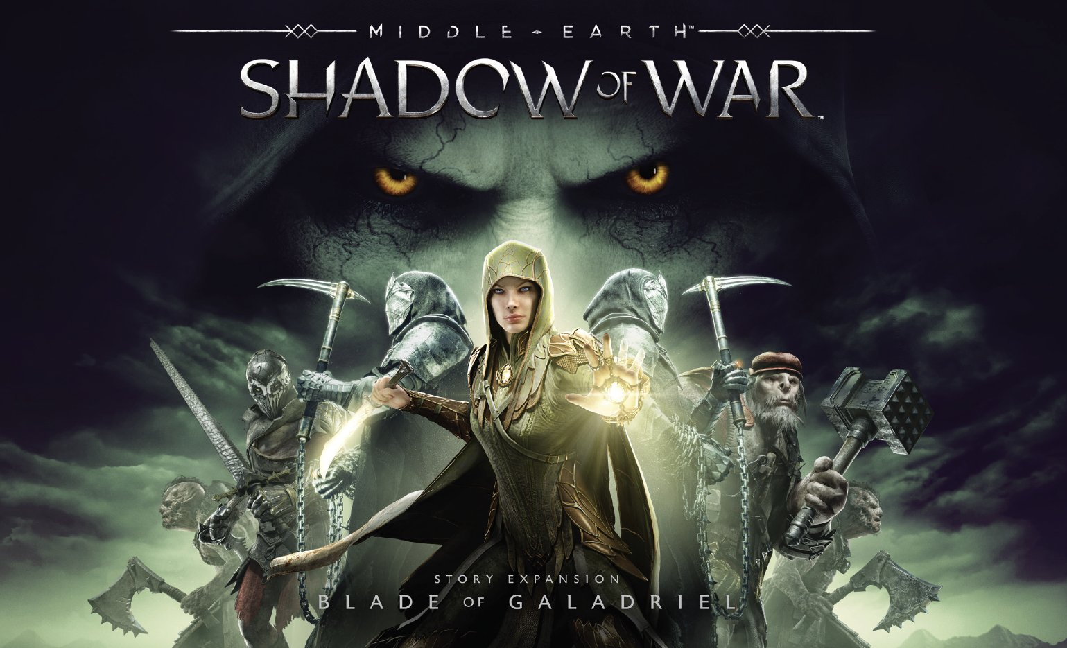 Middle Earth Shadow of War Blade of Galadriel