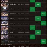 Monster Hunter World Schedule