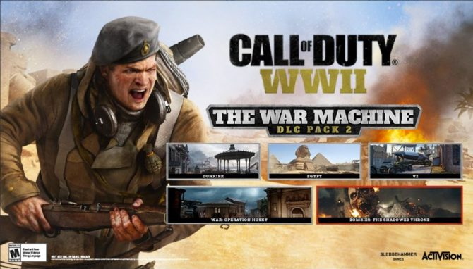 Call of Duty WW2 The War Machine