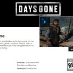 Days Gone Releasing in 2019 As Per Official PlayStation Site