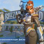 Overwatch's Widowmaker Receives Free Sarah Kerrigan Skin