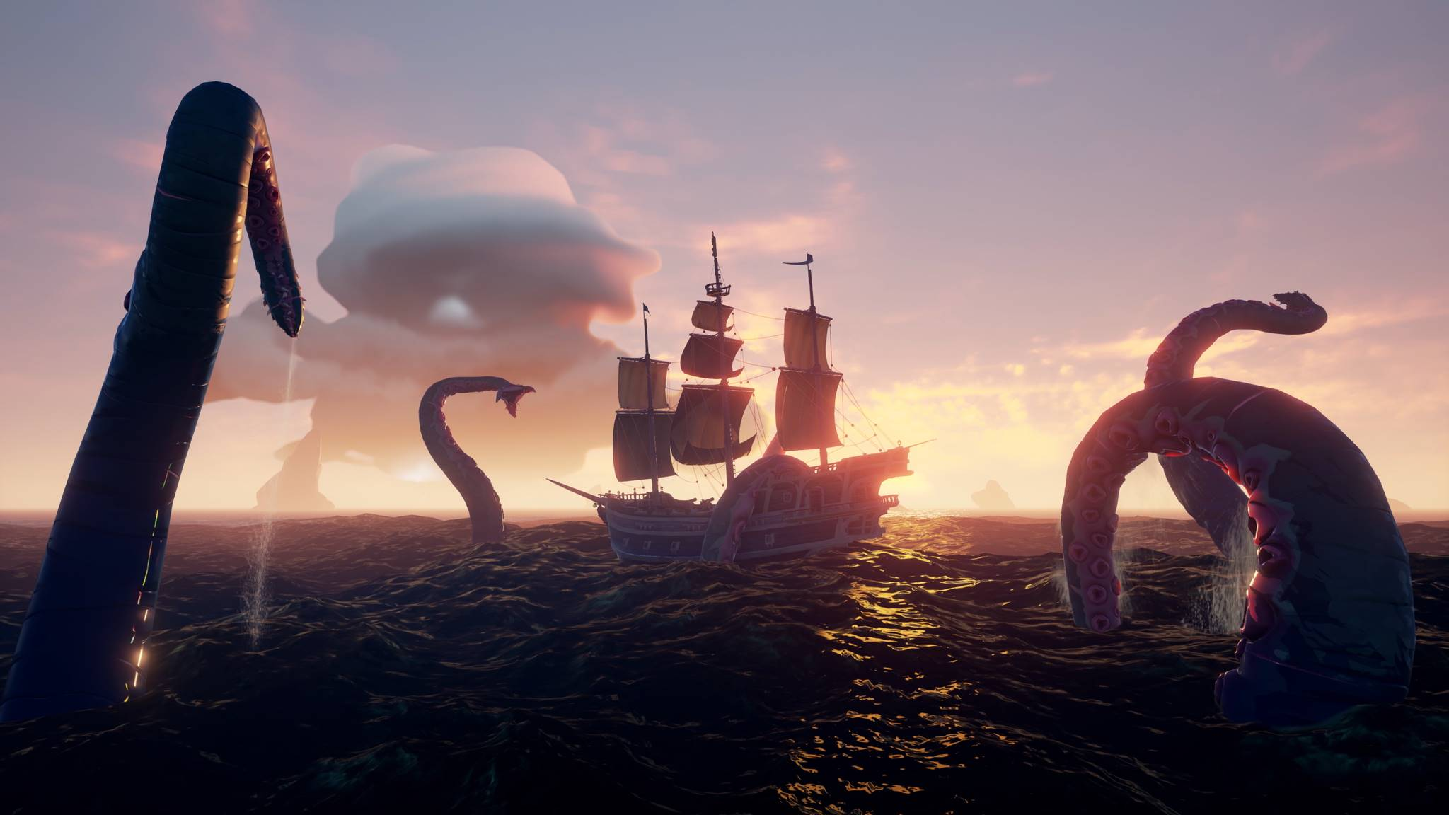 Sea Of Thieves New Update Now Available Weighs In At 1 2gb