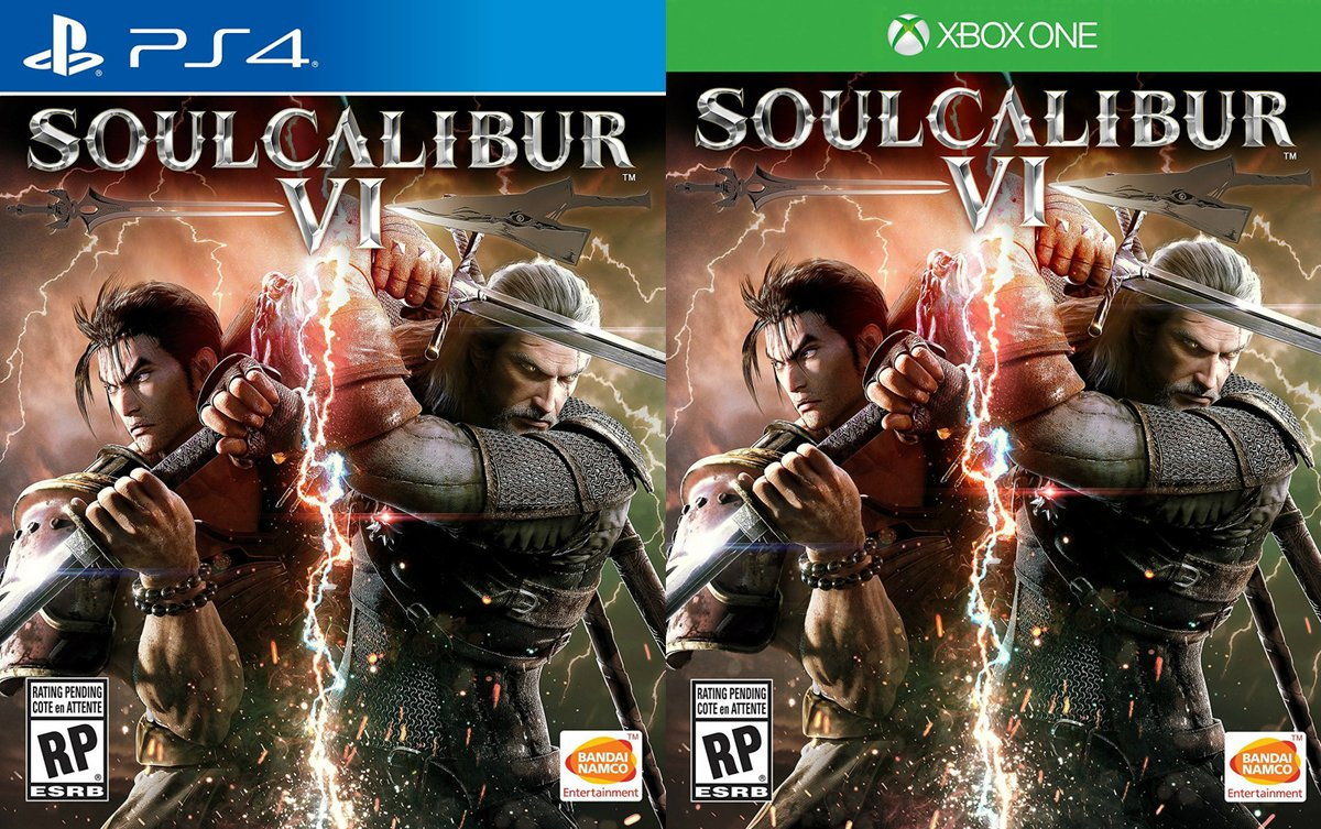 soulcalibur 6 cover