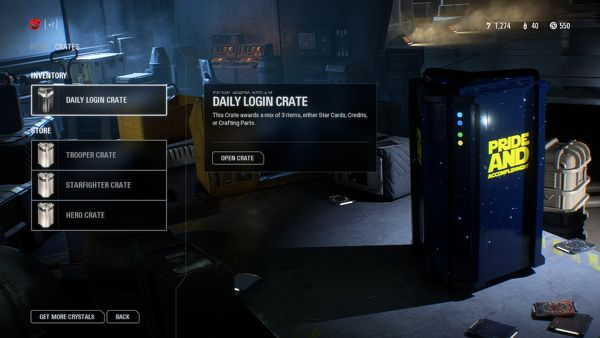 star wars battlefront pride and accomplishment lootbox