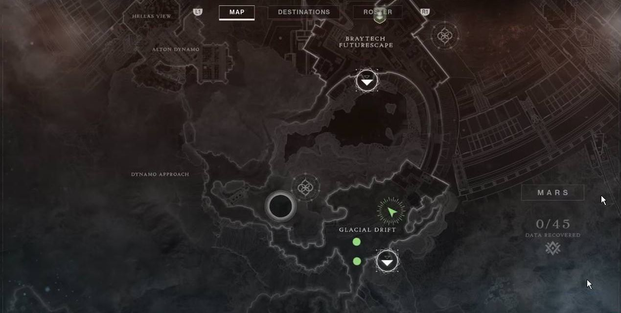 Destiny 2 Warmind map