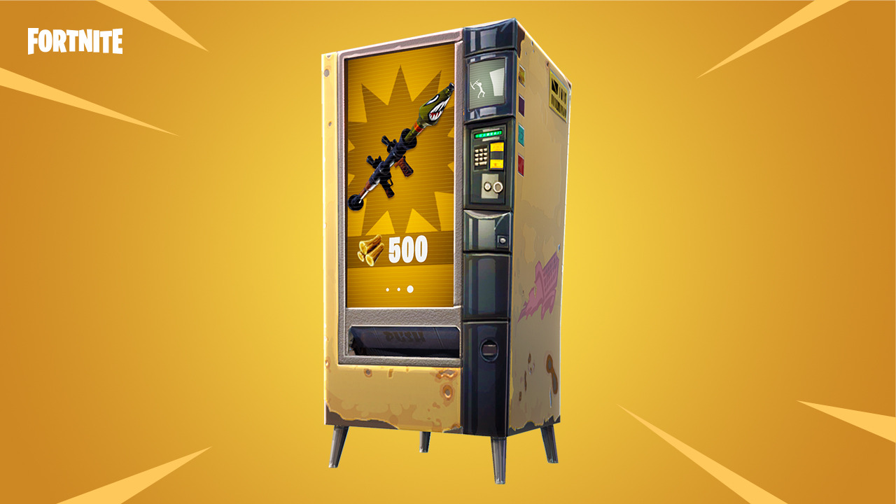 Fortnite Battle Royale vending machine