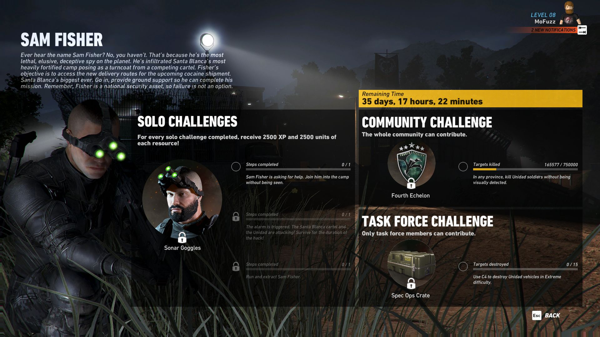 Ghost Recon Wildlands_Splinter Cell_01