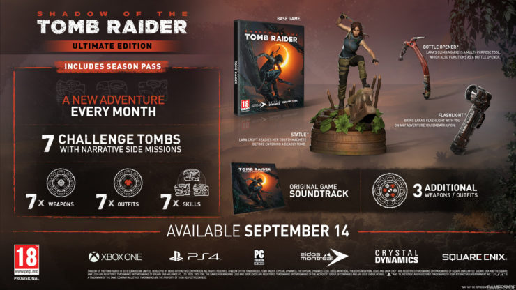 Lack of Collector's Edition for new Tomb Raider for us PC folks